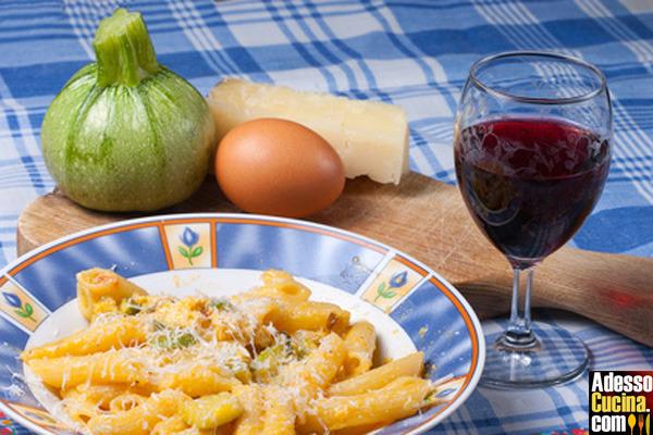 Carbonara con zucchine