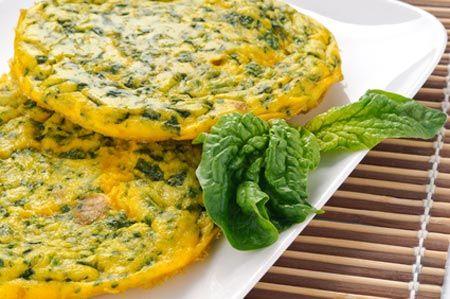 Frittata di spinaci - Ricetta