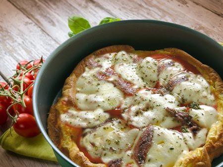 Frittata finta pizza