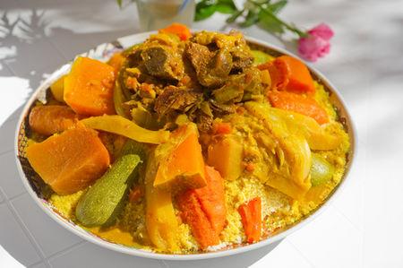Cous cous di pollo e verdure - Ricetta