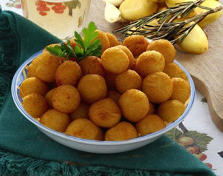 Crocchette di patate e prosciutto