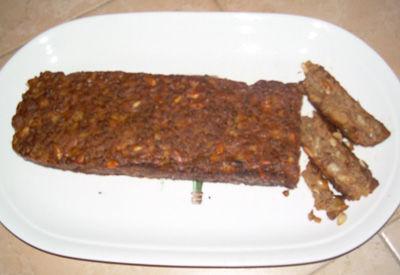 Mattonella di lenticchie e castagne