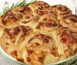 Torta delle rose al formaggio