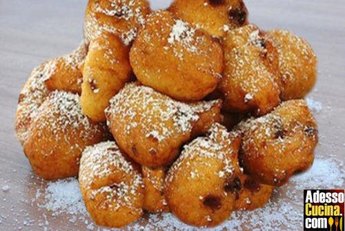 Tortelli dolci di carnevale