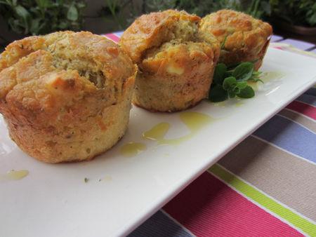 Muffin al parmigiano