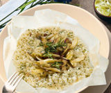 Cartoccio di riso ai finocchi
