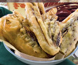 Radicchio in pastella