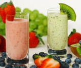 Smoothies alla fragola