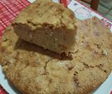 Torta di mele con farina d'avena e cannella