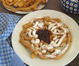 Strauben, dolci di farina a forma di chiocciola