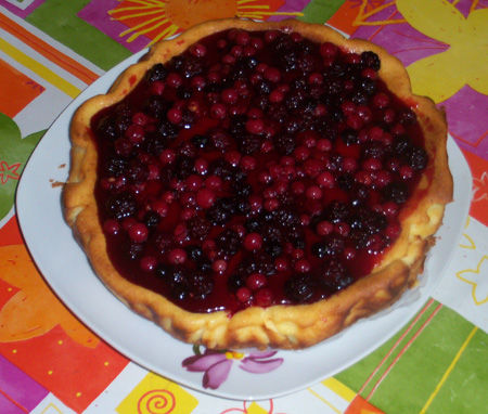 Cheesecake al topping alle fragole di Beatrice