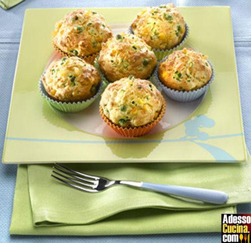 Muffin con verdure