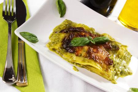 Lasagne al pesto e broccoli