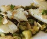 Filetti di merluzzo con zucchine