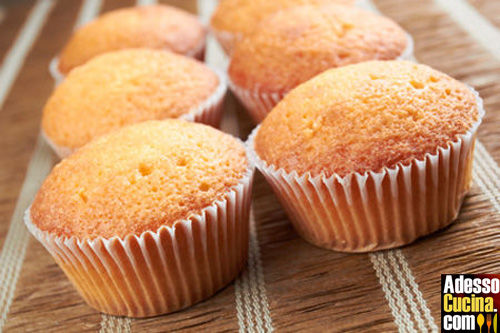 Muffin di miele e yogurt