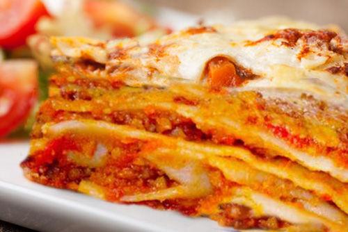 Lasagne con ragù di seitan