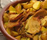 Seitan al forno con patate