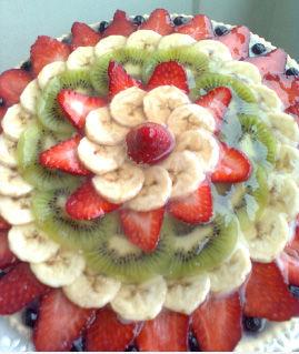 Crostata con crema pasticcera e frutta fresca