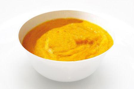 Crema di cipolle, carote e zucca