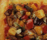 Pizza sfiziosa verdure e gorgonzola