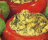 Pomodori ripieni ricotta e basilico
