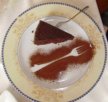 Torta Sacher light