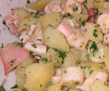 Polpo  in insalata di patate lesse