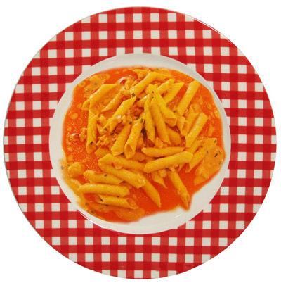 Garganelli alla crema di peperoni