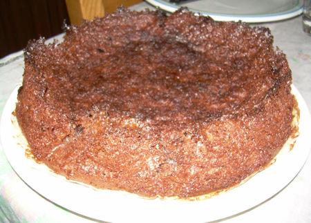 Torta cioccolato e pangrattato