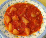 Zuppa di baccal� e patate