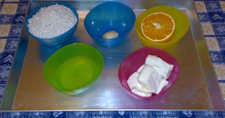 Risotto al taleggio e al profumo d'arancia