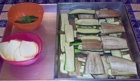 Cocotte di melanzane, zucchine e scamorza