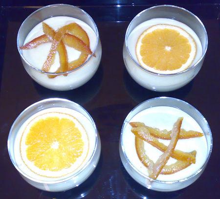 Tiramisù con mascarpone e crema pasticcera all'arancia