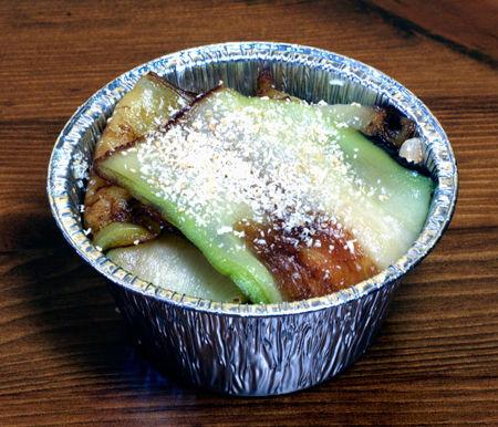 Timballo di riso alle melanzane con filetti di triglia