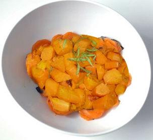 Carote al curry