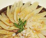 Crostata di crema di riso e mele