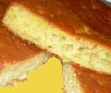 Torta morbida al rabarbaro