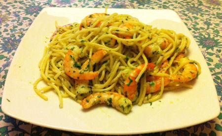 Spaghetti con mezzancolle
