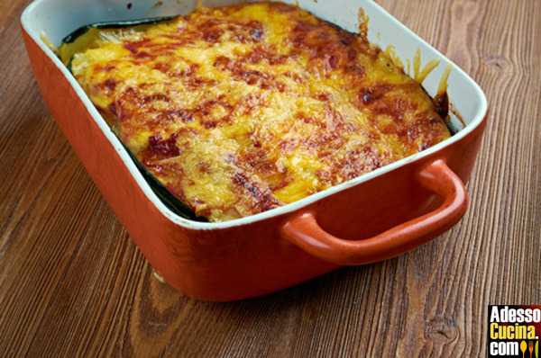 Parmigiana piccantina di verdure