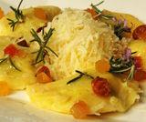 Mezzelune di patate con ripieno di Graukas