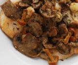 Petti di pollo ai funghi