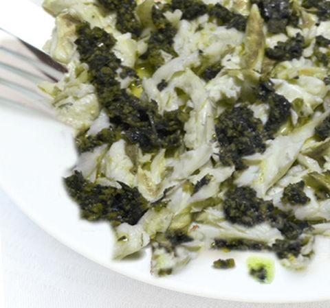 Orate  in salsa verde