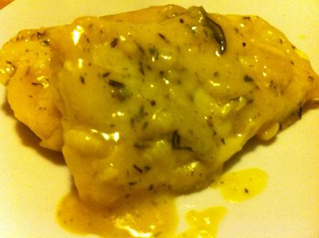 Filetti di merluzzo allo zafferano