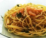 Spaghetti ai gamberi e zenzero