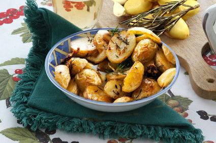 Patate arrosto con erbe aromatiche