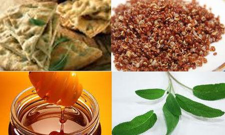 Focaccia alla quinoa e curcuma