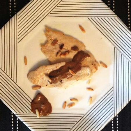 Petti di pollo all'aceto balsamico e alla senape