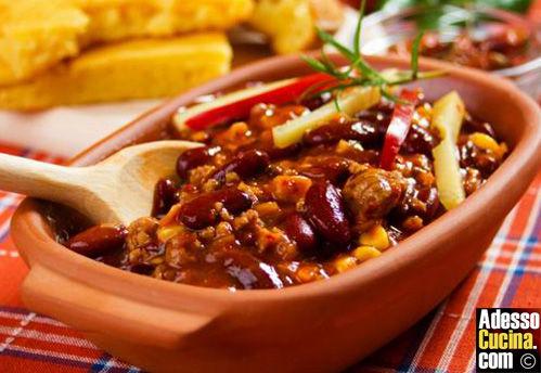 Chili con carne  tex-mex - Ricetta
