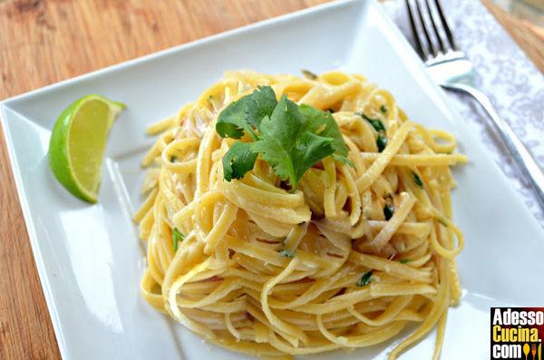 Linguine delicate al limone - Ricetta