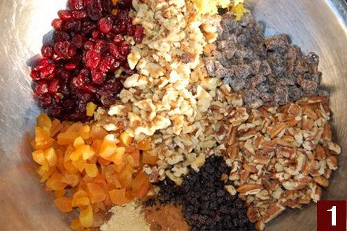 Ciambella ricca alla frutta per diabetici